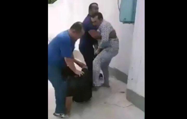 MIB xodimlarini kaltaklagan aka-ukalarga nisbatan jinoyatishi qo'zg'atildi (video)
