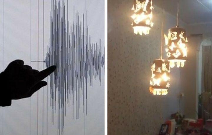 Опубликованы кадры мощного землетрясения в Индонезии (видео)