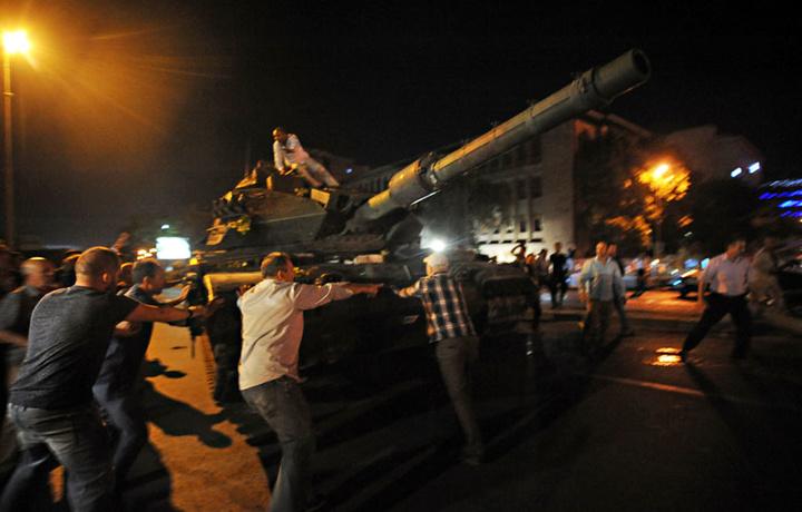 Мусибат ва матонат: Туркия. 2016 йил, 15 июль