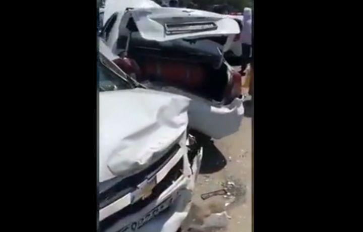 Чилонзорда еттита машина иштирокида йирик ЙТҲ содир бўлди (видео)