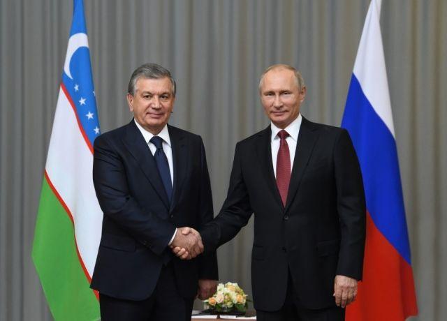 Шавкат Мирзиёев Владимир Путинга табрик йўллади