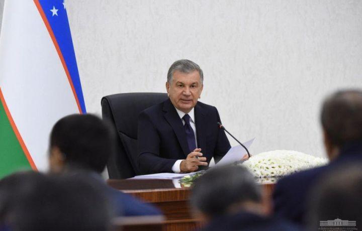 Шавкат Мирзиёев экспорт сустлигидан норози