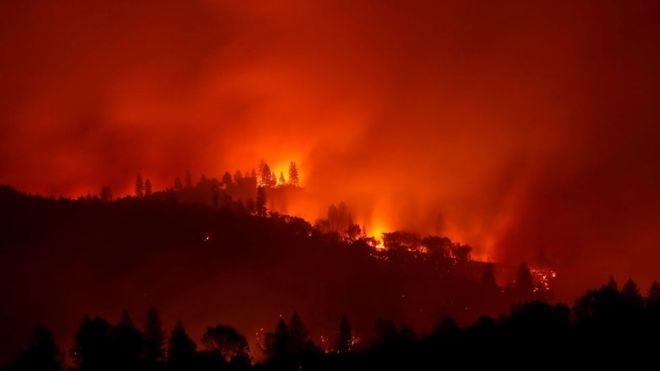 Калифорнийские пожары убили 25 человек