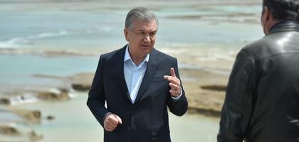 Шавкат Мирзиёев дал указания по восстановлению прорванной дамбы (фото)