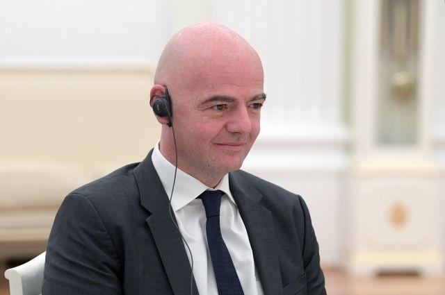 ФИФА президенти Россиянинг энг чиройли шаҳри қайси эканини айтди